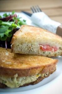 Fresh Albacore Tuna Melt